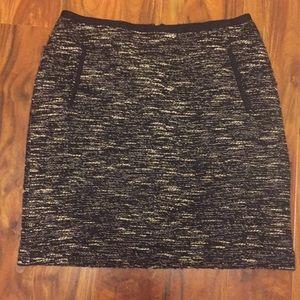 Talbot blacl amd white skirt